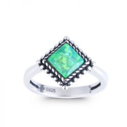 Jeulia Fairy Princess Opal Ring