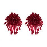 Jeulia Acaleph Tassel Earrings